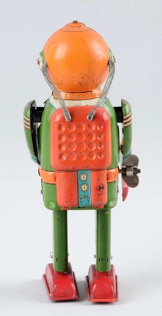 Japanese Tin Litho Interplanetary Explorer Robot. - 2