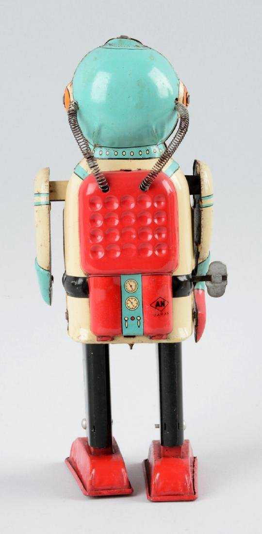Japanese Tin Litho Wind Up Interplanet Space Captain. - 2