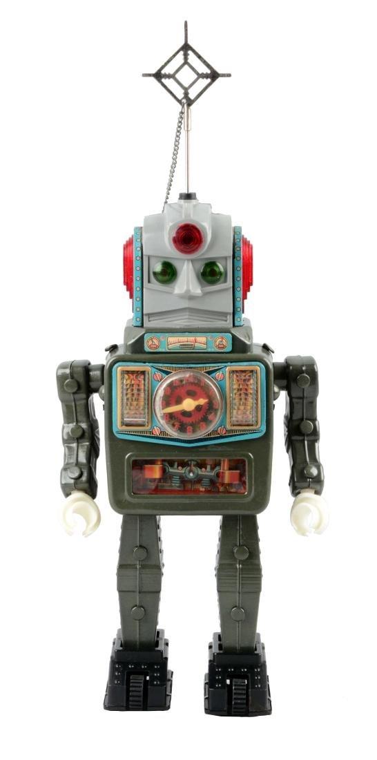 Japanese Battery Operated Moon Explorer Robot.