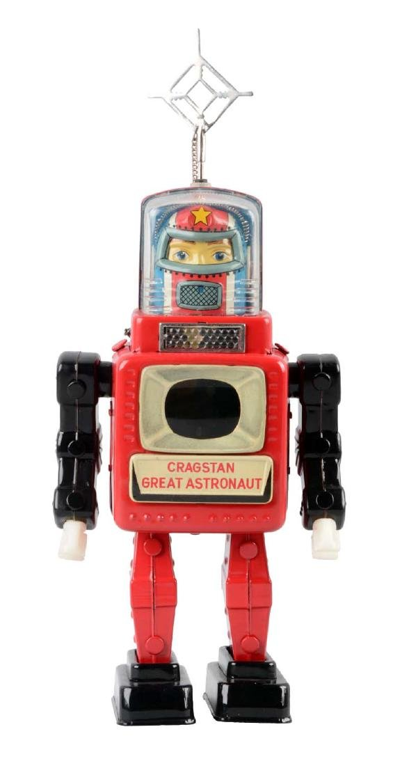 Japanese Tin Litho Battery Operated Cragstan Great
