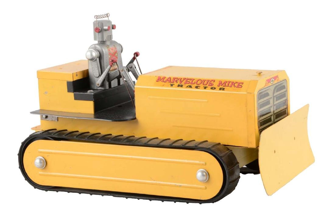 American Made Saunders Marvelous Mike Robot Tractor.