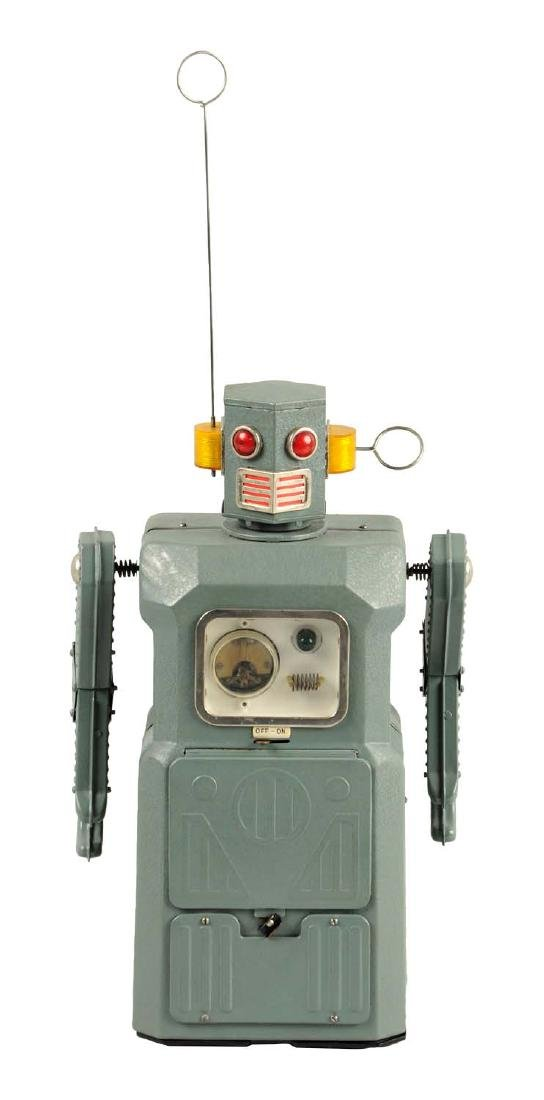 Japanese Tin Litho Battery-Operated Radicon Gang Of 5