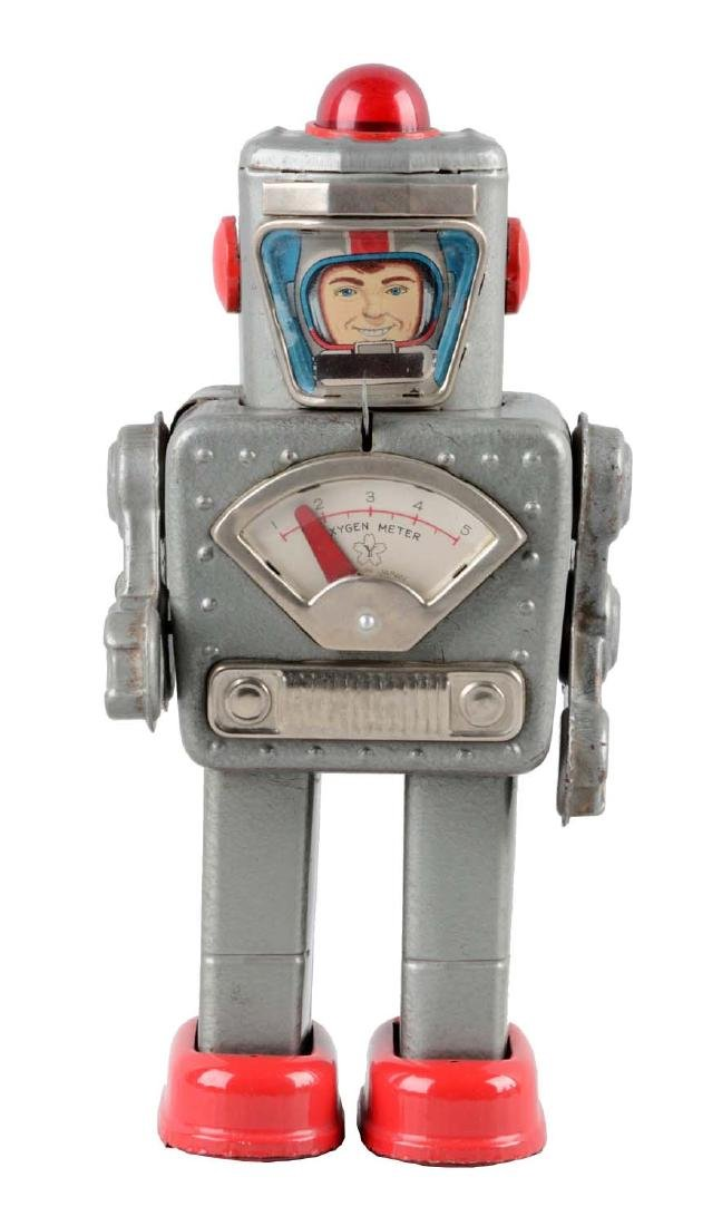 Japanese Tin Litho Wind Up Space Explorer.