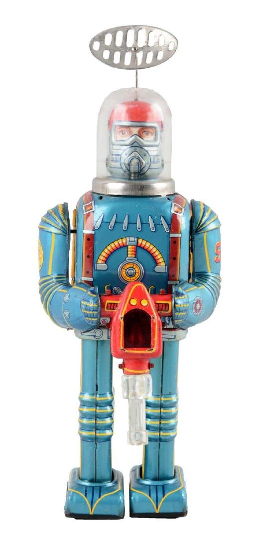 Japanese Tin Litho Battery Operated Space Conqueror