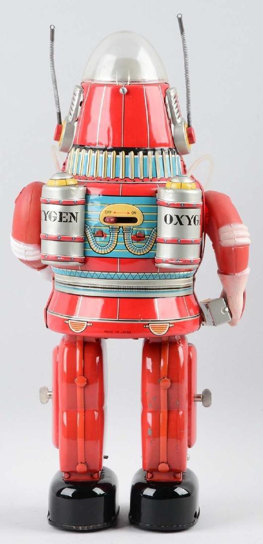 Japanese Tin Litho Battery Operated Rosco Astronaut. - 2