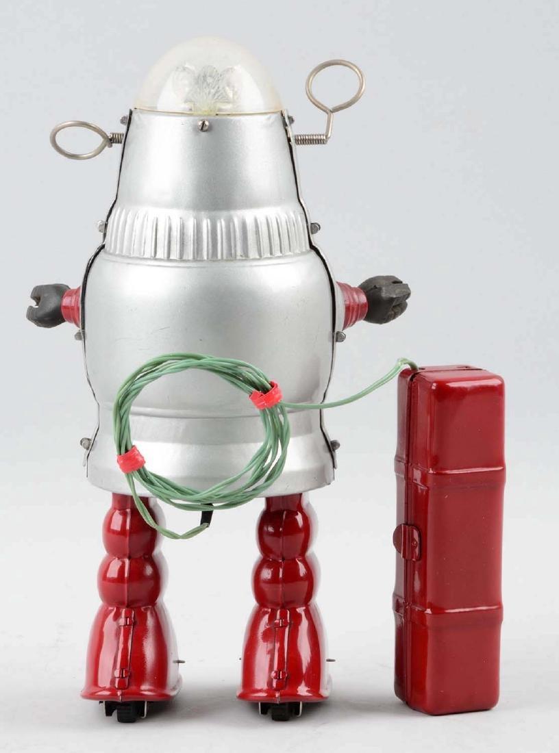 Japanese Tin Litho Battery Operated Piston Action - 2
