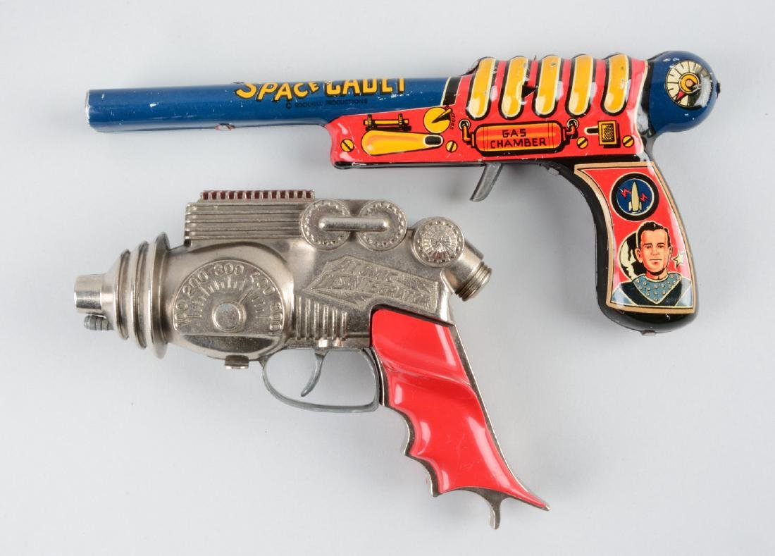 Lot Of 2: American Made Metal Space Guns. - 2