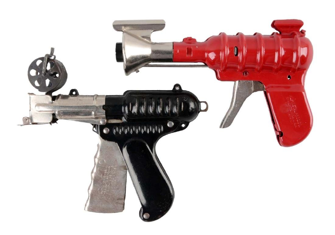 Lot Of 2: American Made Wyandotte Space Pistols.