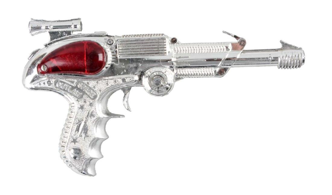 English Made Metal Space Outlaw Atomic Pistol.