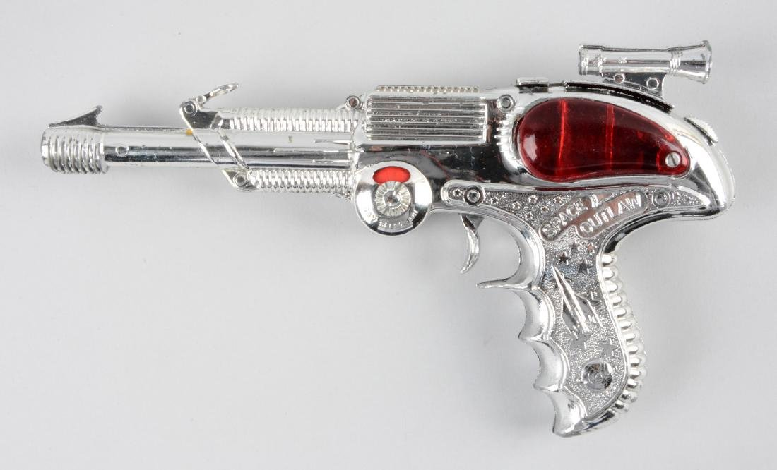 English Made Metal Space Outlaw Atomic Pistol. - 2