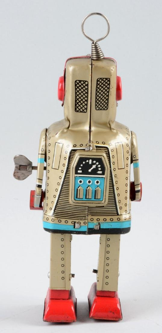 Japanese Tin Litho Wind Up Sparky Robot. - 2