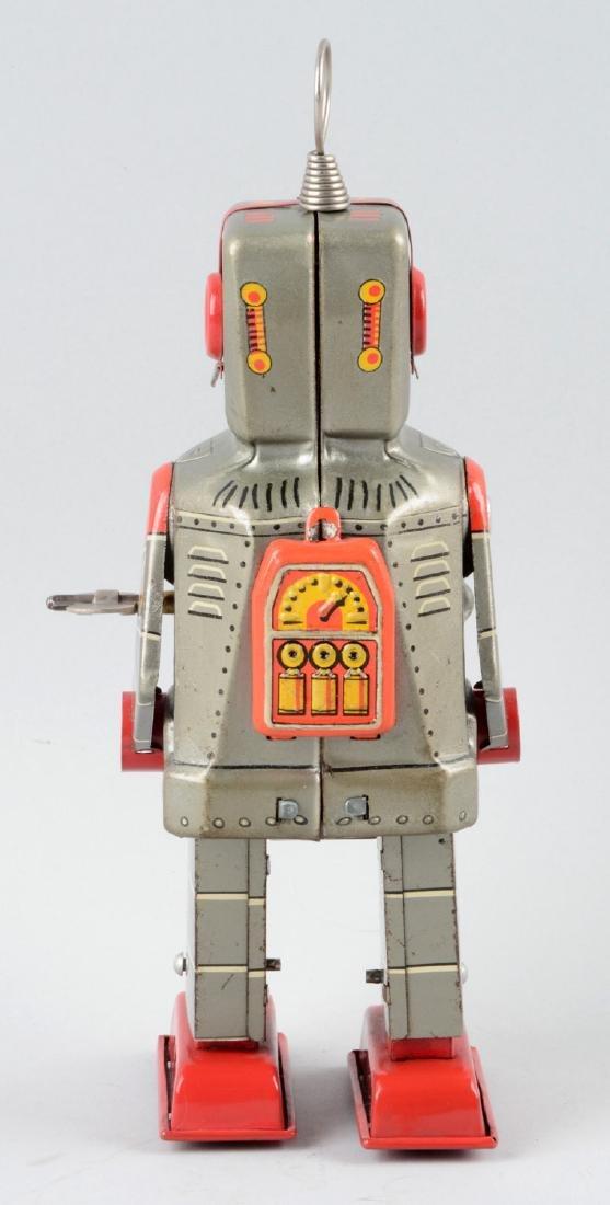 Japanese Tin Litho Wind-Up Sparky Robot. - 2