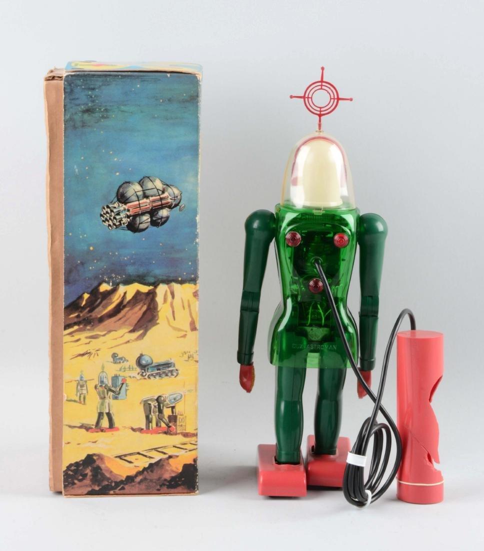 German Battery-Operated Dux-Astroman. - 2