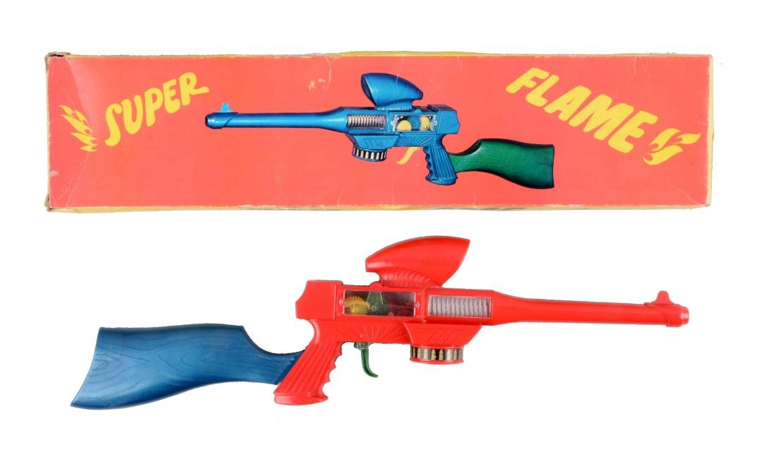 Plastic Greek Super Flame Space Rifle.