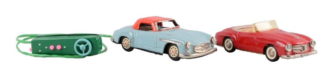 Lot Of 2: Vintage German & Japanese Mercedes