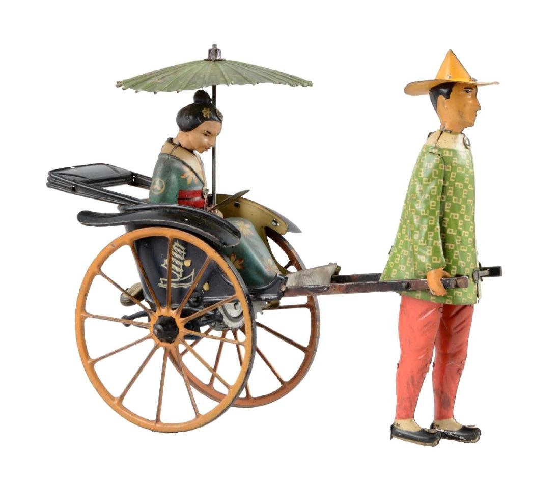 German Lehmann Tin Litho Wind-Up Matsuyama Toy.