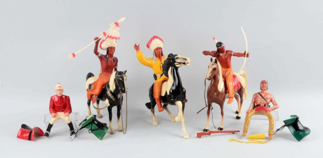 Nice Lot of Hartland Riders & Horse Figures.