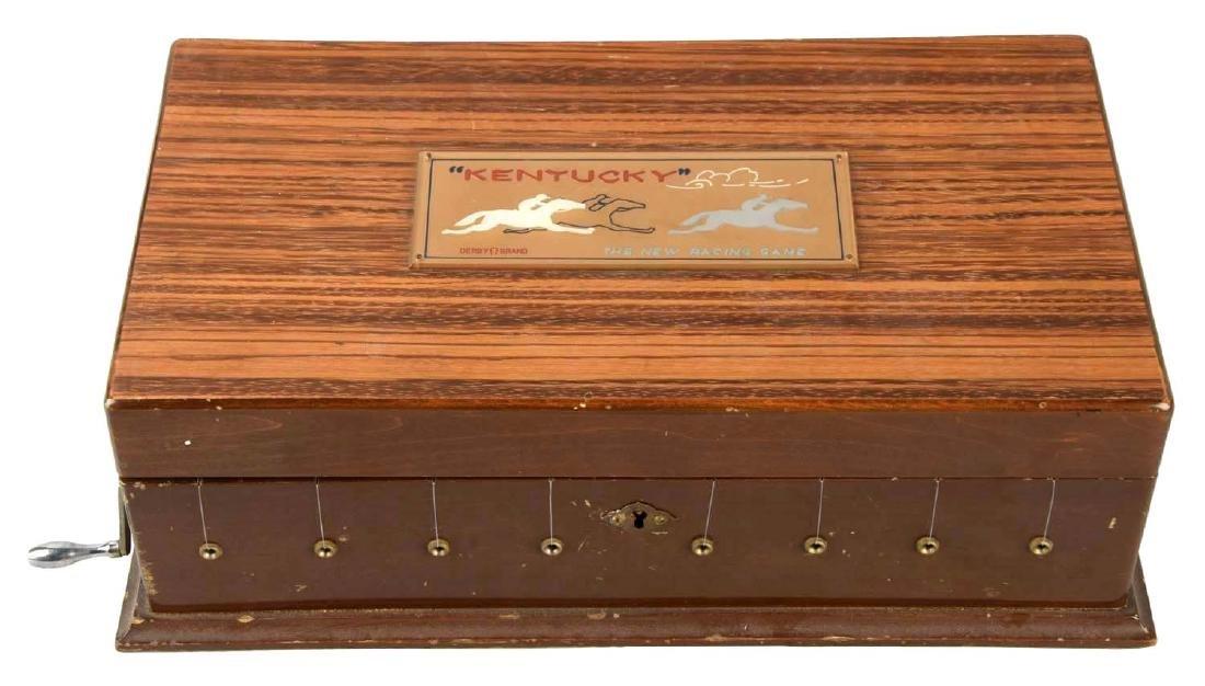 """The Kentucky"" Horse Race Gambling Game."