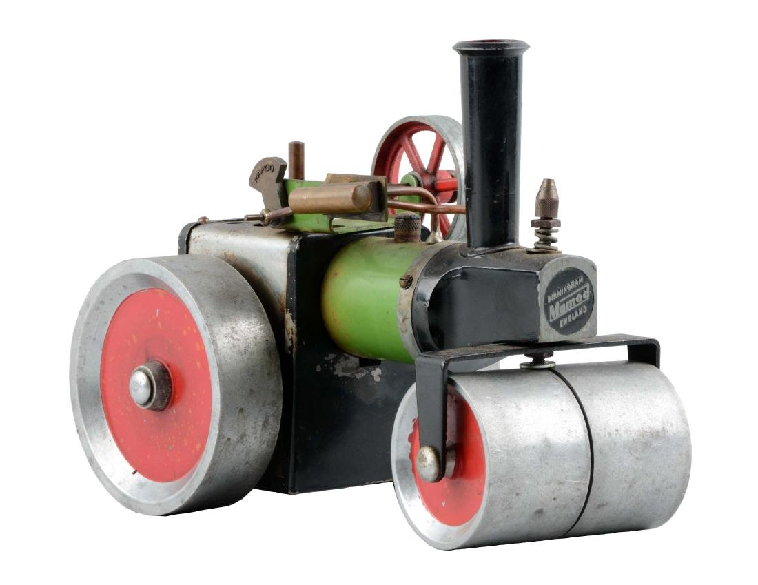 English Mamod Live Steam Roller Toy.