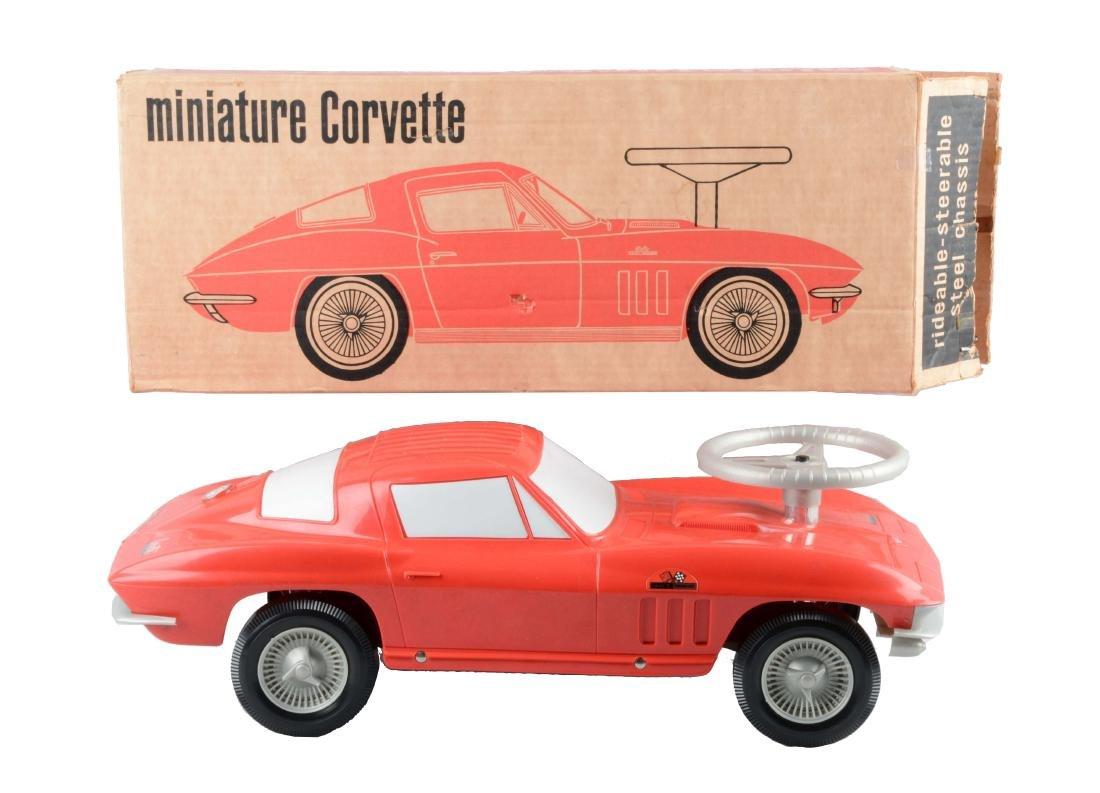 Rare Plastic Corvette Promotional Automobile.
