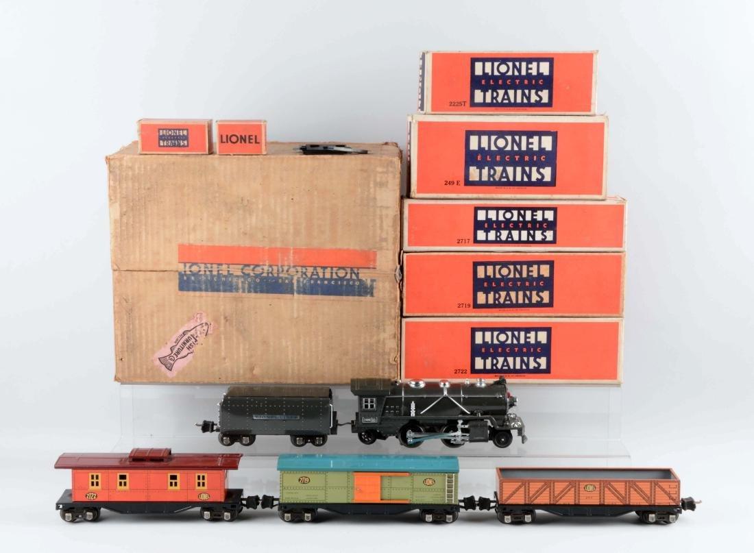 Lionel Pre-War O Gauge Tin Plate No. 249 Freight Train