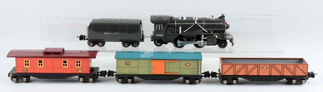 Lionel Pre-War O Gauge Tin Plate No. 249 Freight Train - 2