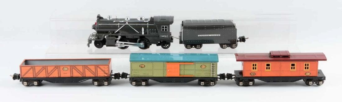 Lionel Pre-War O Gauge Tin Plate No. 249 Freight Train - 3