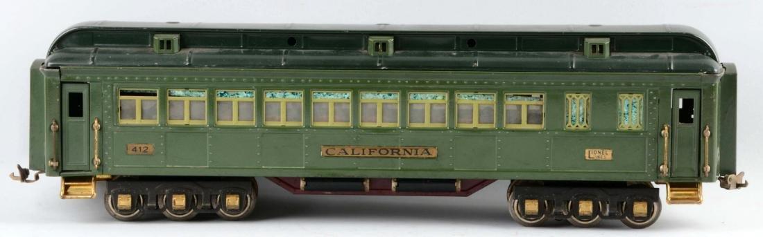 Lionel Pre-War Standard Gauge No. 412 California - 2