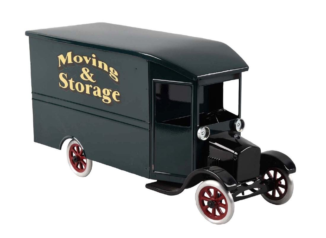 Pressed Steel Cowdery Toyworks Oversized Moving &