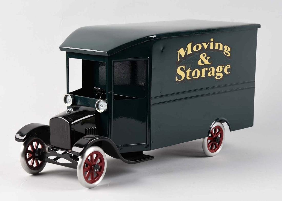Pressed Steel Cowdery Toyworks Oversized Moving & - 2