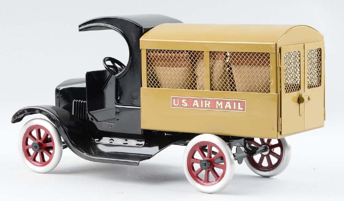 Pressed Steel Cowdery Toyworks U.S. Air Mail Screen - 3