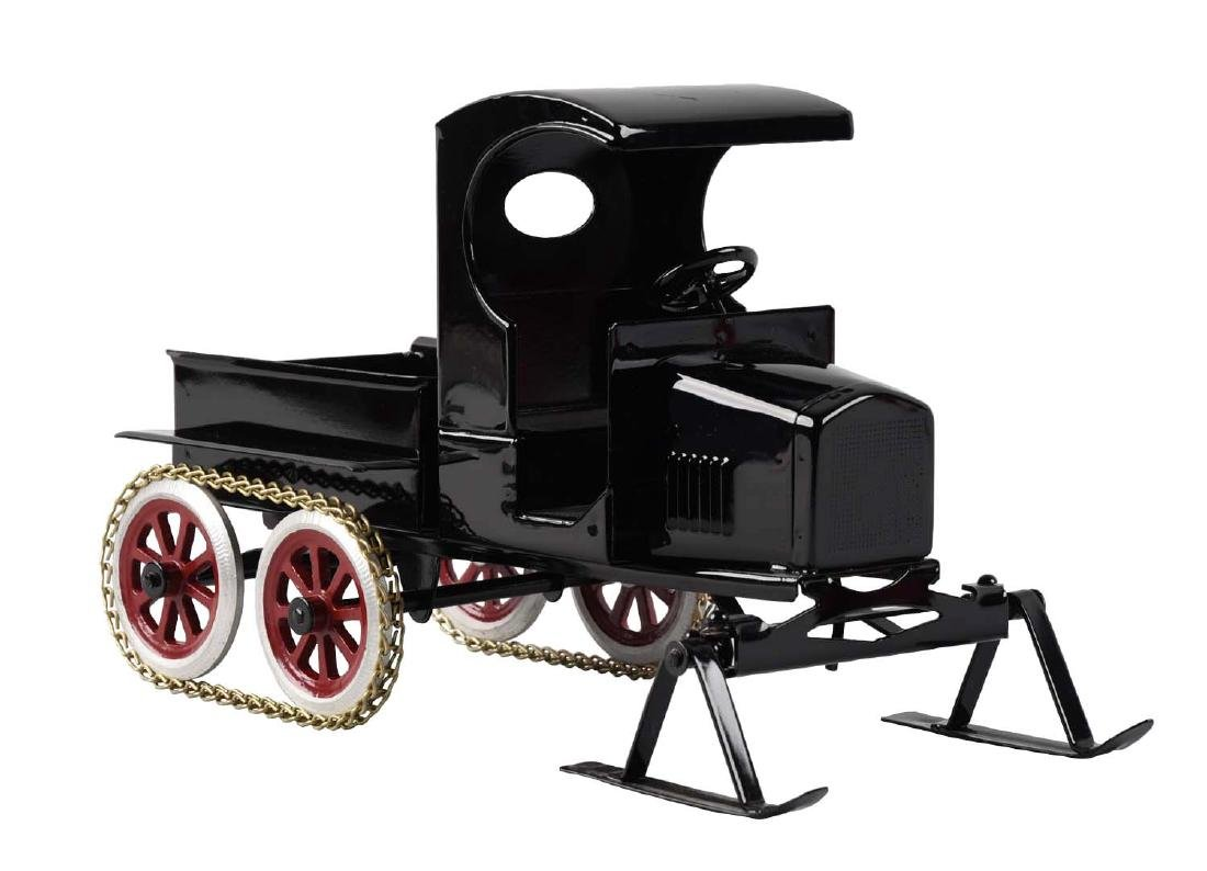 Pressed Steel Cowdery Toyworks Snow Vehicle With Ski