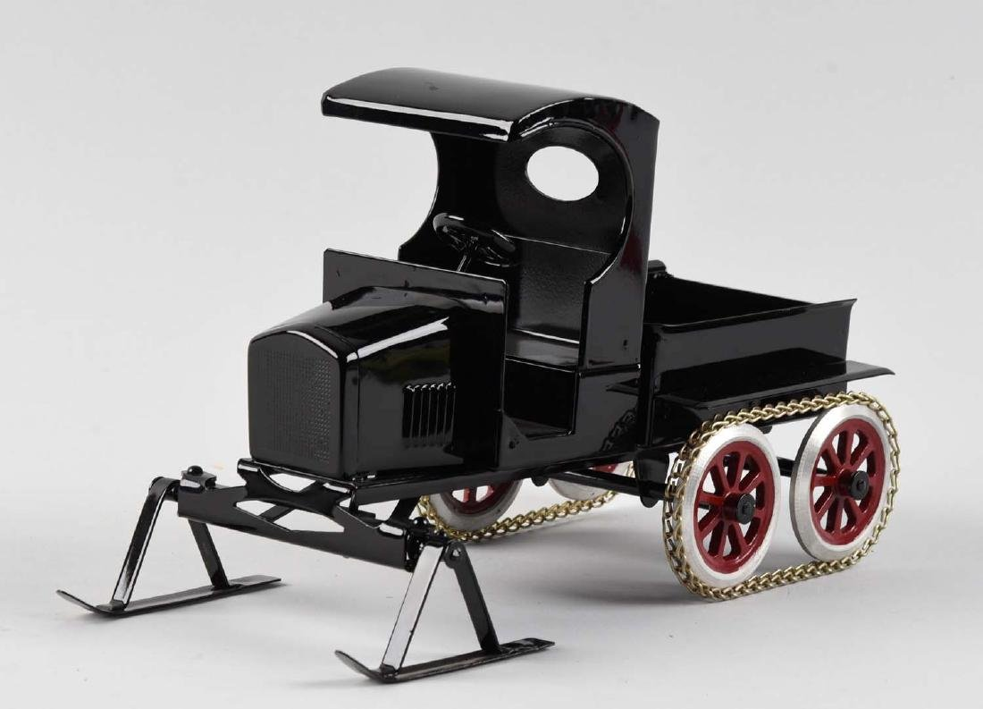 Pressed Steel Cowdery Toyworks Snow Vehicle With Ski - 2