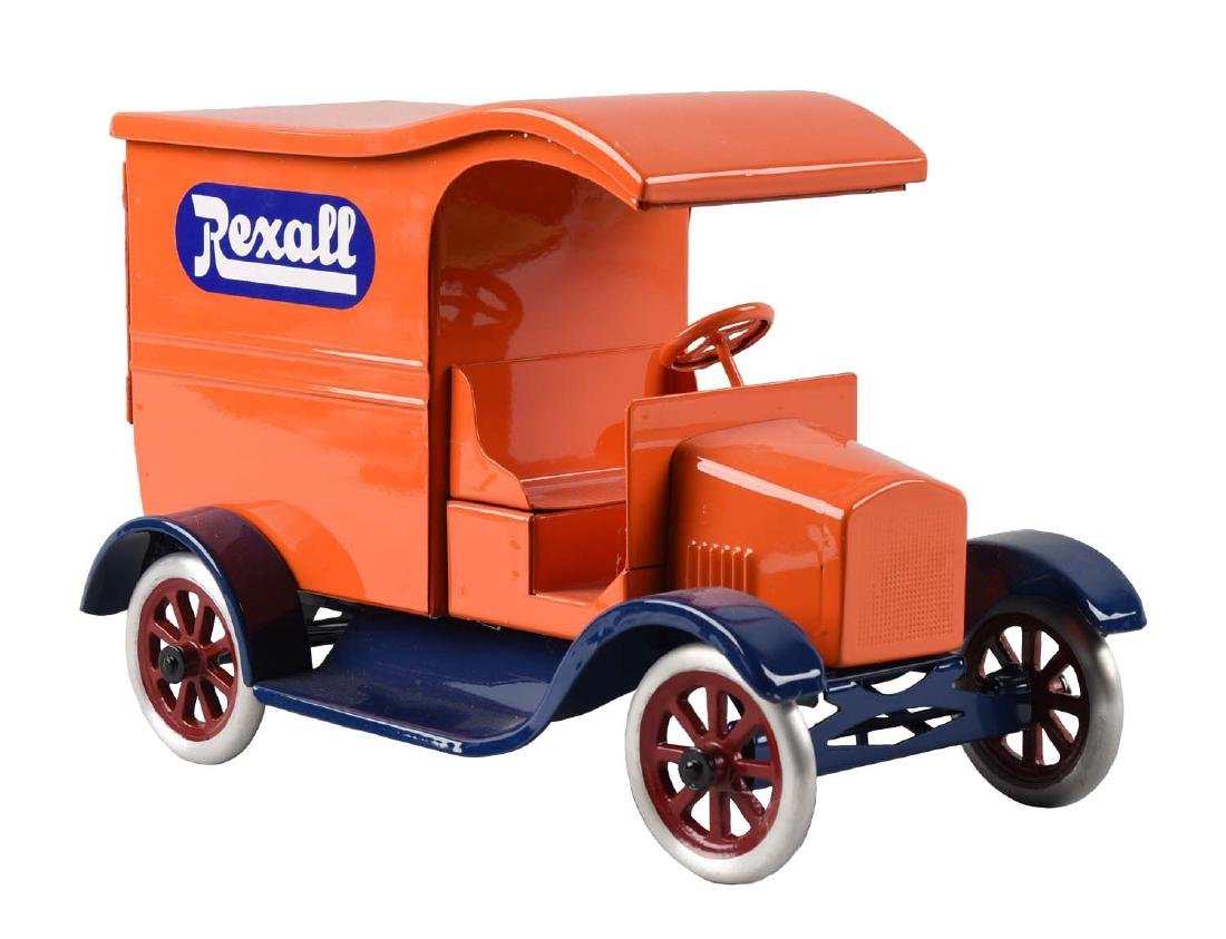Pressed Steel Cowdery Toyworks Rexall Delivery Van.