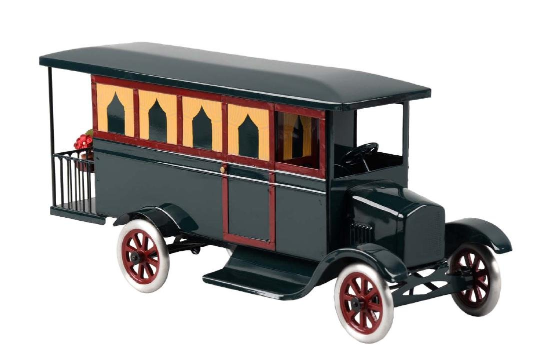 Pressed Steel Cowdery Toyworks Hard To Find Motor Home