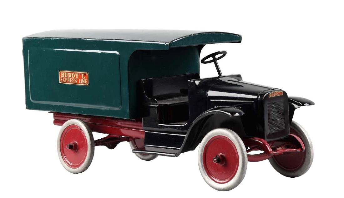 Pressed Steel Buddy L Express Line Moving Van.