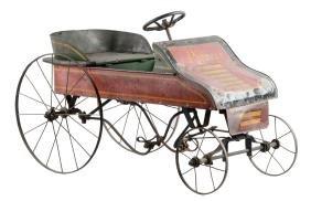 Pressed Steel American Pioneer Pedal Car.