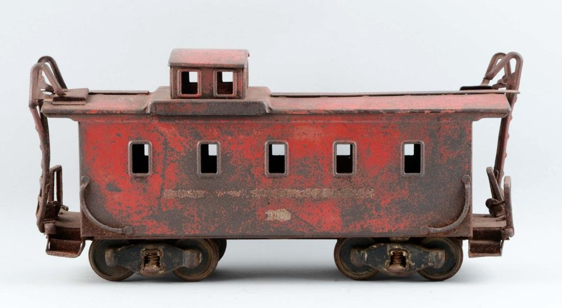 Pressed Steel Buddy L Outdoor Railroad Caboose.