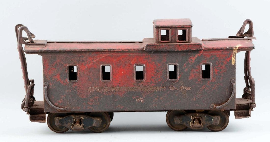 Pressed Steel Buddy L Outdoor Railroad Caboose. - 2