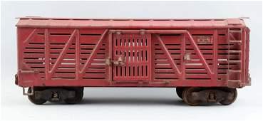 Pressed Steel Buddy L Outdoor Railroad Cattle Car