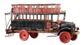 Gilbert Erector Set Double Decker Bus.