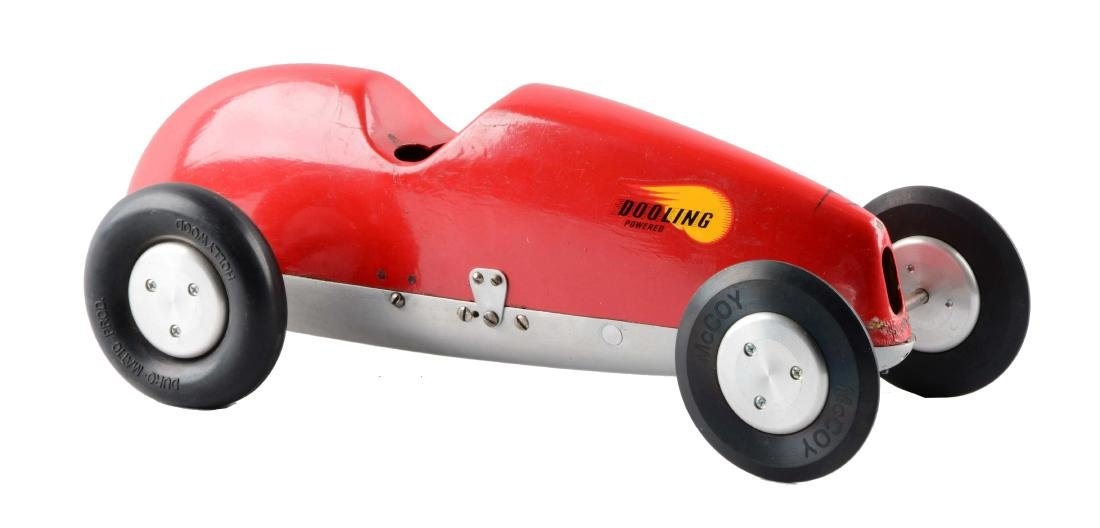 Gas-Powered Dooling Race Car.