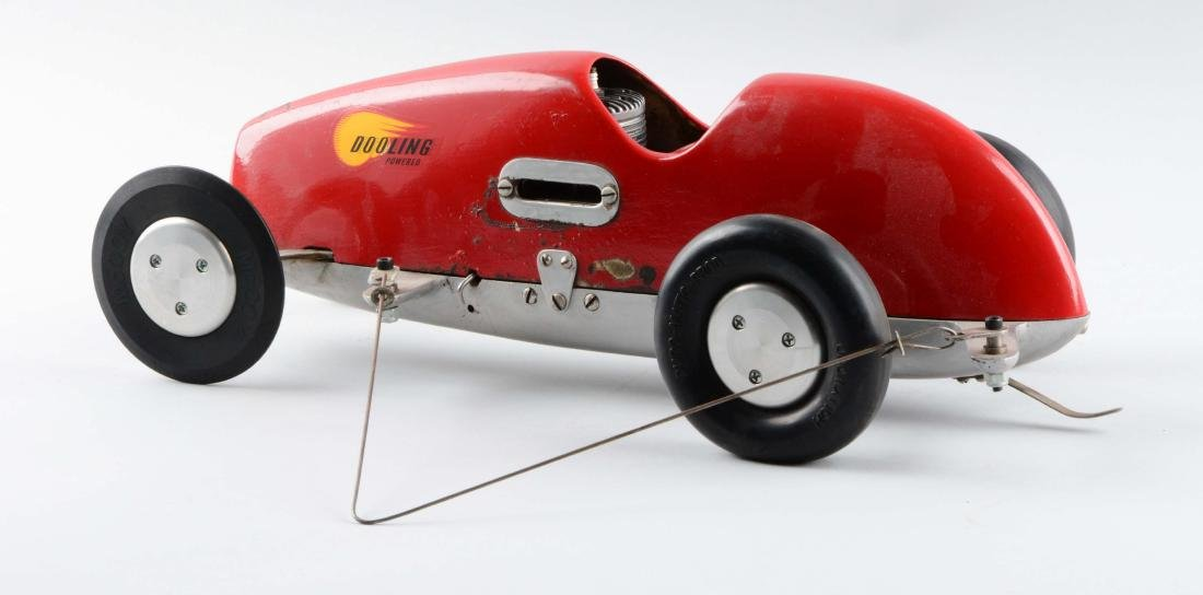 Gas-Powered Dooling Race Car. - 2