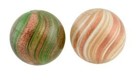Lot Of 2: Lutz Marbles.