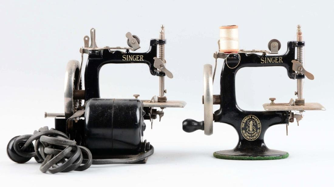 Lot Of 2: Children's Singer Sewing Machines. - 2