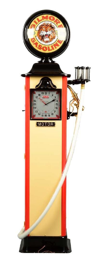 Erie Model #20 Clockface Gas Pump - Restored.