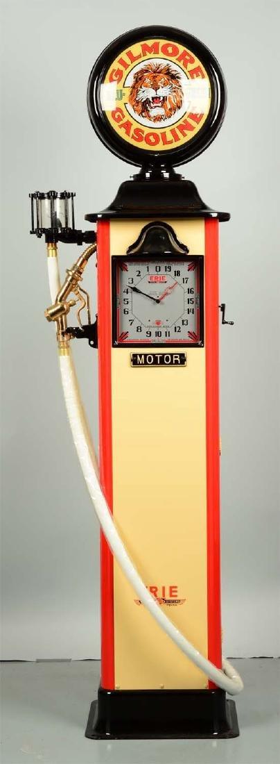 Erie Model #20 Clockface Gas Pump - Restored. - 2