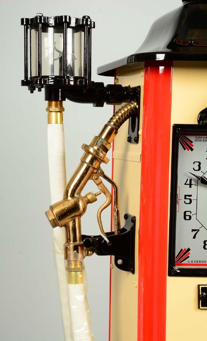 Erie Model #20 Clockface Gas Pump - Restored. - 5