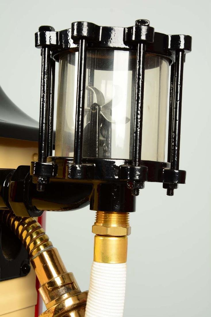 Erie Model #20 Clockface Gas Pump - Restored. - 7