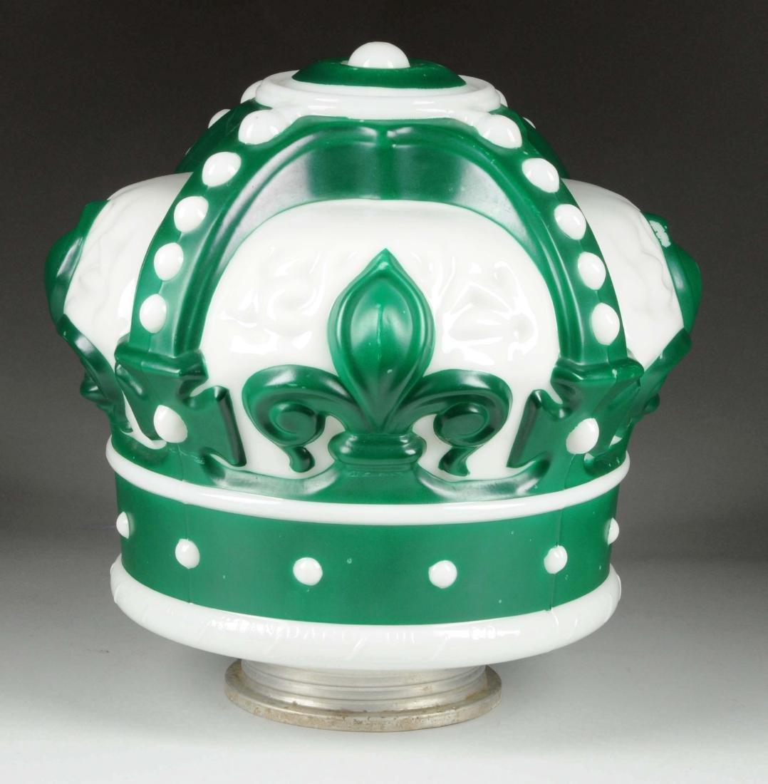 Standard Oil of Indiana Green Crown OPC Globe.